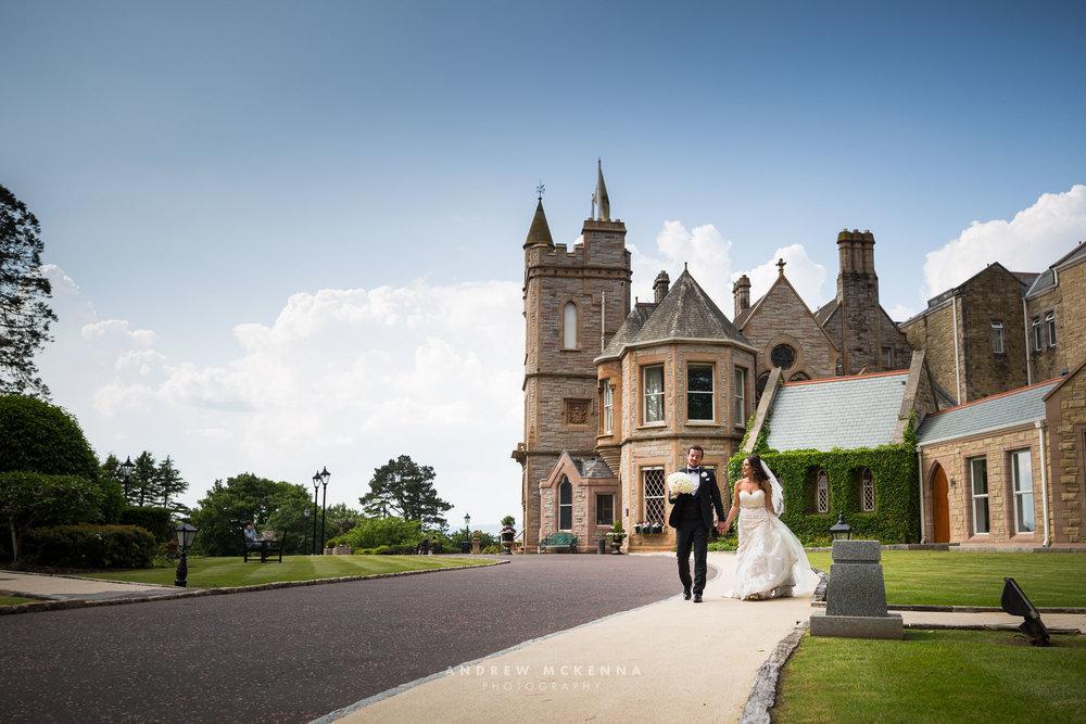 Owen & Laura The Culloden Estate & Spa - Wedding photographer No