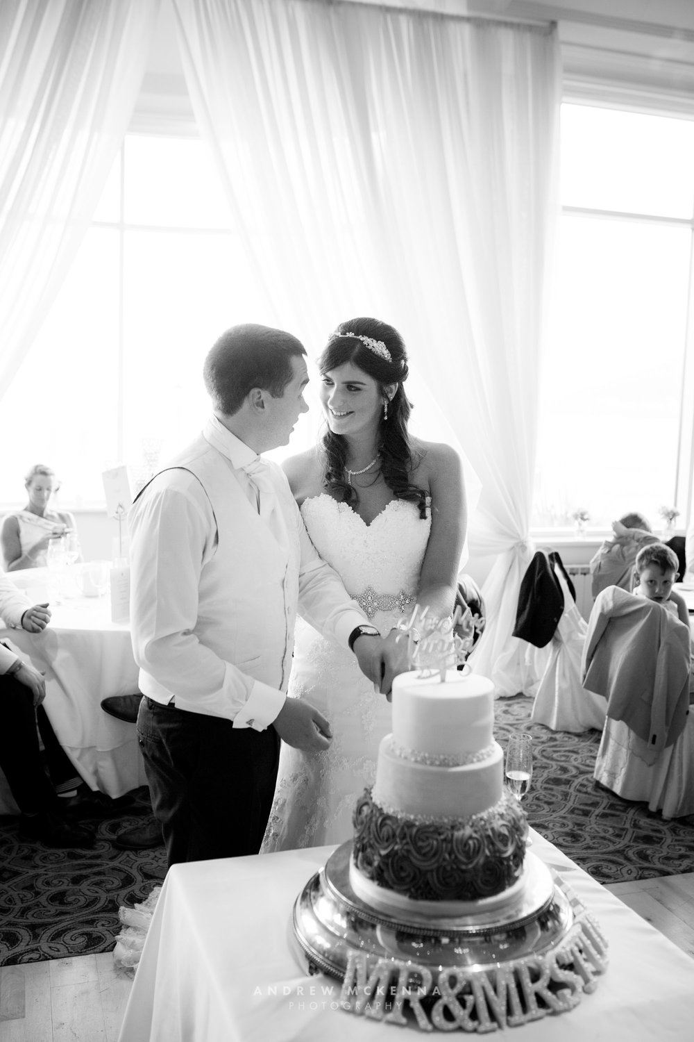 Gillian & Andrew Slieve Donard Resort & Spa Newcastle County Dow
