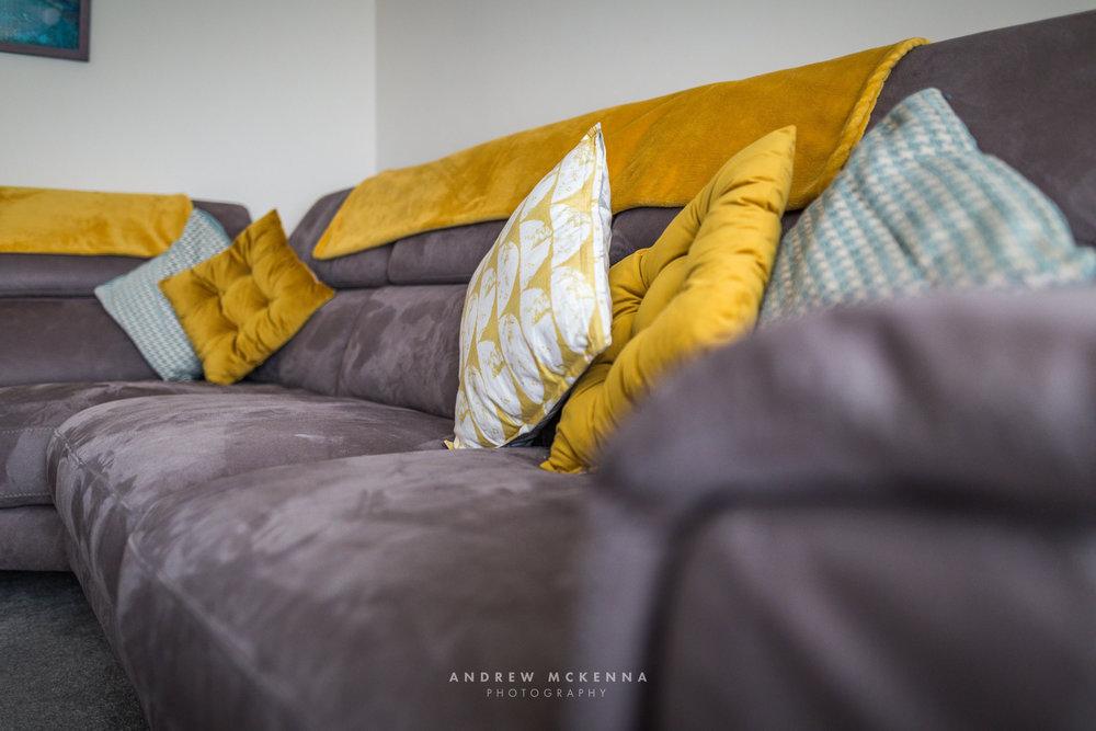 Airbnb interior Photographer Belfast Northern Ireland