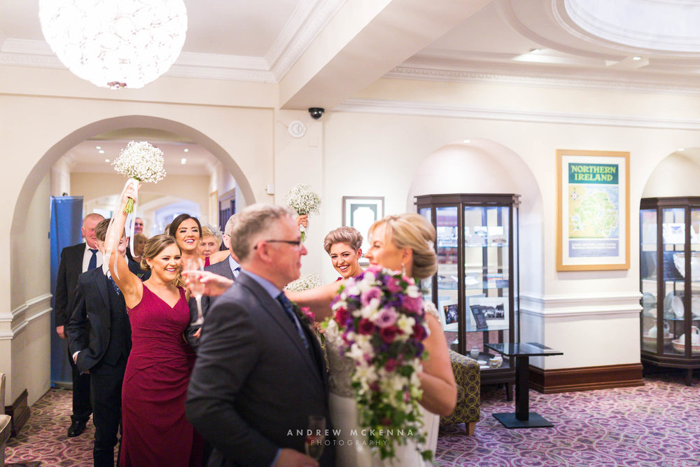 Slieve Donard Hotel Wedding Photography