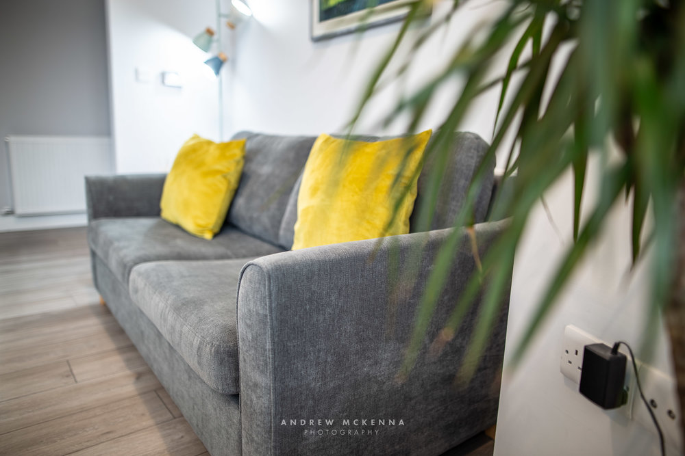 Airbnb The Avenue Belfast interior photography