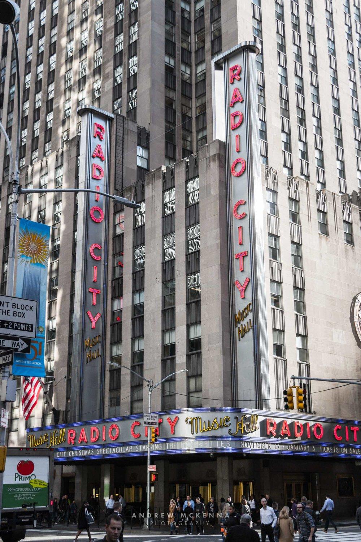 New York NYC Photographer Travel photographer radio city
