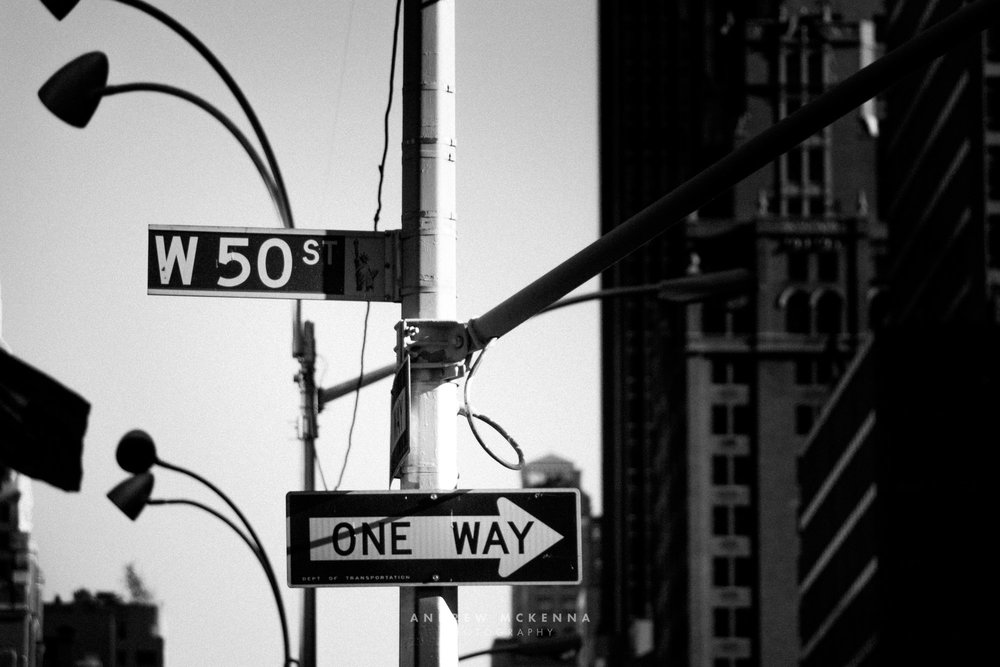 New York NYC Photographer Travel photographer Street signs
