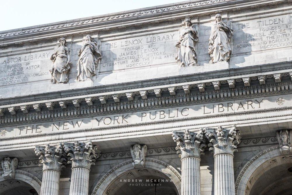New York NYC Photographer Travel photographer Public library