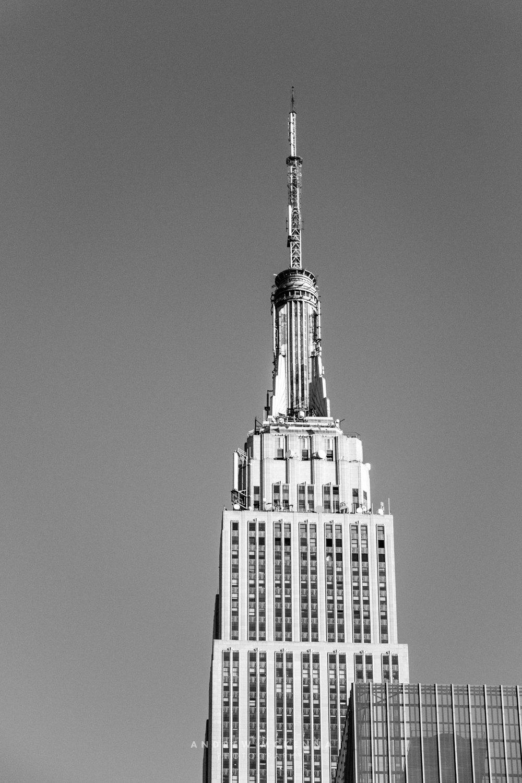 New York NYC Photographer Travel photographer Empire State Build