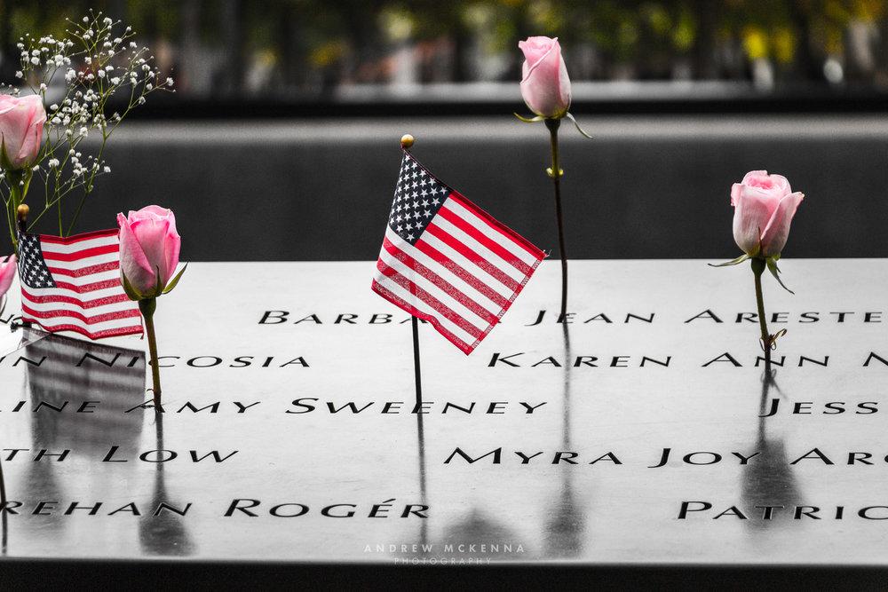 New York NYC Photographer Travel photographer 911 memorial