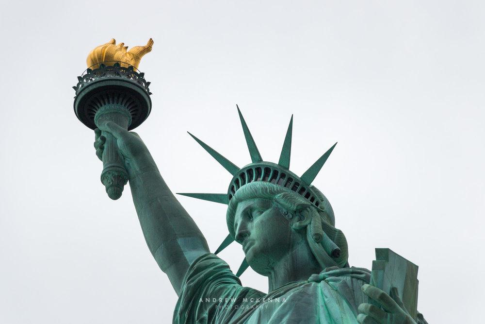 New York NYC Photographer Travel photographer The stature of lib
