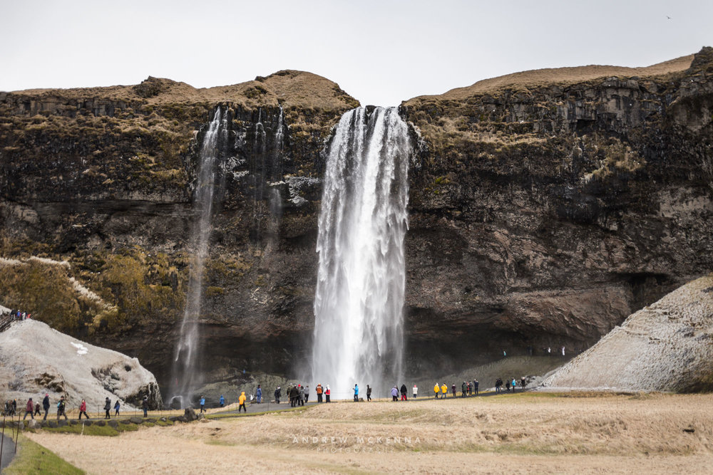 Iceland Travel Photography The Northern Lights Skógafoss waterf