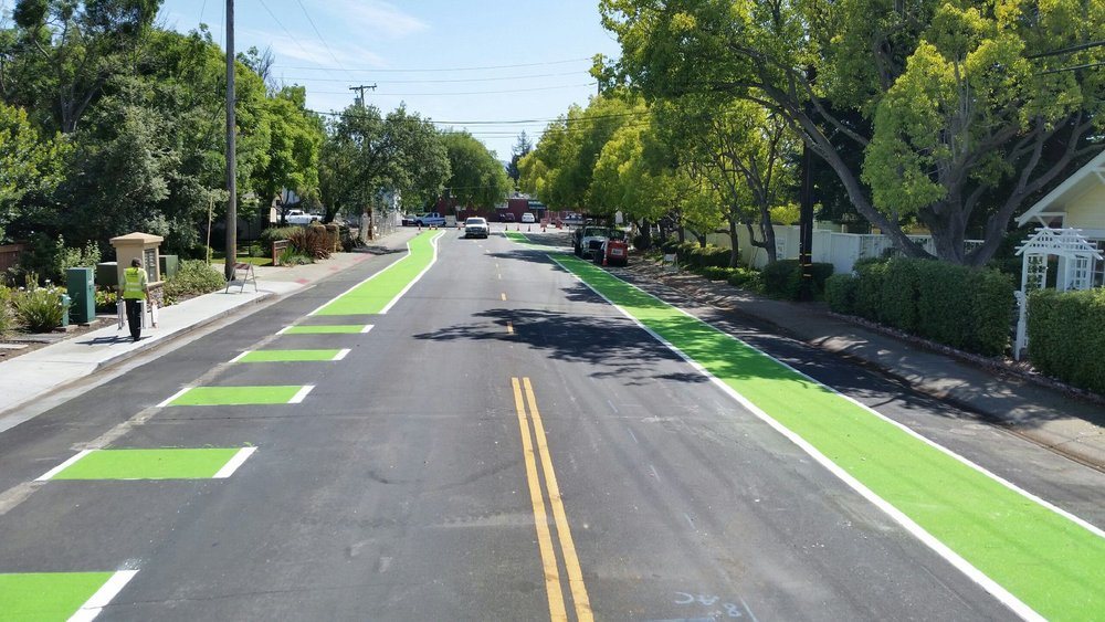 Green Bike Lanes