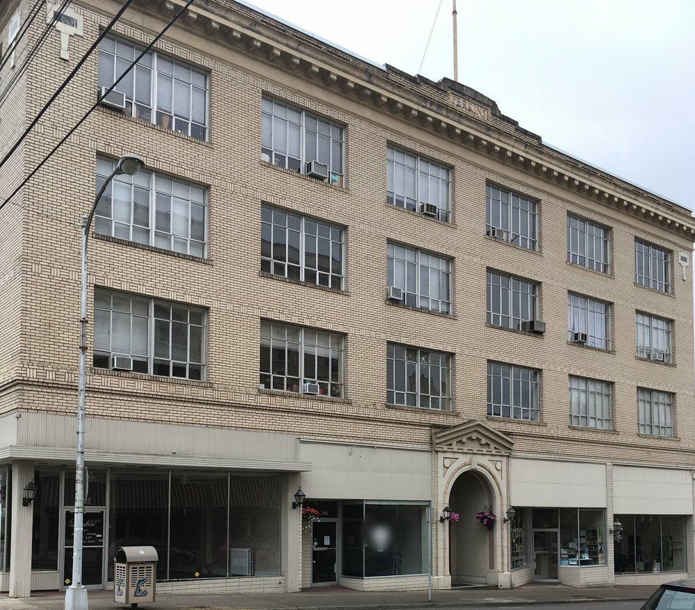 The Pacific Building, Roseburg, Oregon, location of our offices.