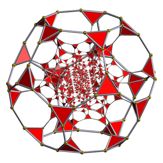 Uniform polychoron   An article about the 4-dimensional equivalent of Archimedean solids.