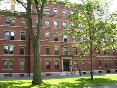 Thayer Hall at Harvard
