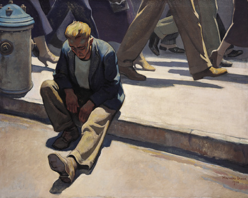 "Maynard Dixon's ""The Forgotten Man"""