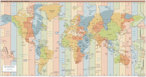 The image above is from the Wikipedia article on time zones