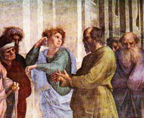 image source: Plato talking to Euthyphro