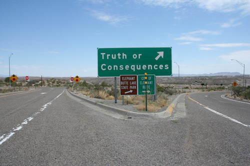"Image source.  Link to the Wikipedia article on ""Truth or Consequences, New Mexico."""
