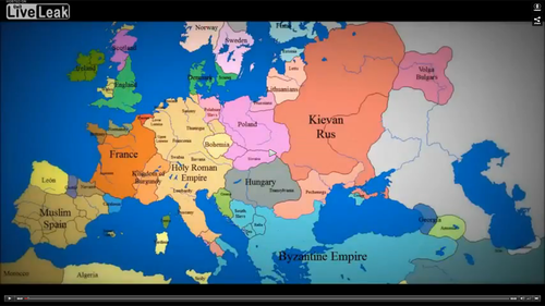 Dynamic Map Of Europe From 1000 A.D. To 1900 U2014 Confessions Of A Supply Side  Liberal
