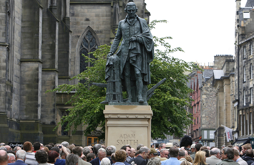 Adam Smith, Patron Saint of Supply-Side Liberalism–a Worthy Hero