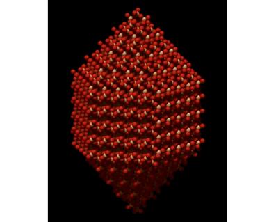 the crystalline structure of quartz
