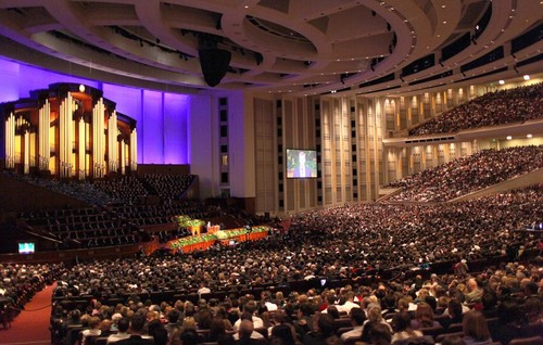 The Mormon Church's  Conference Center