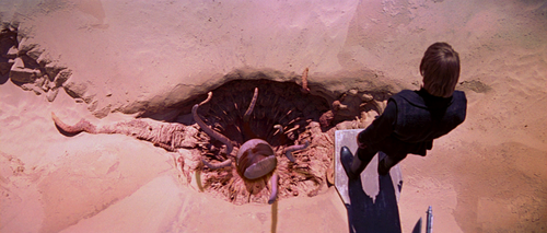 "The Great Pit of Carkoon, from Star Wars. JP Koning writes that ""The pit represents the fear of going below 0."""