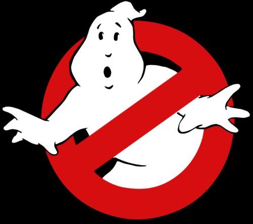"""Ghostbusters"" logo"