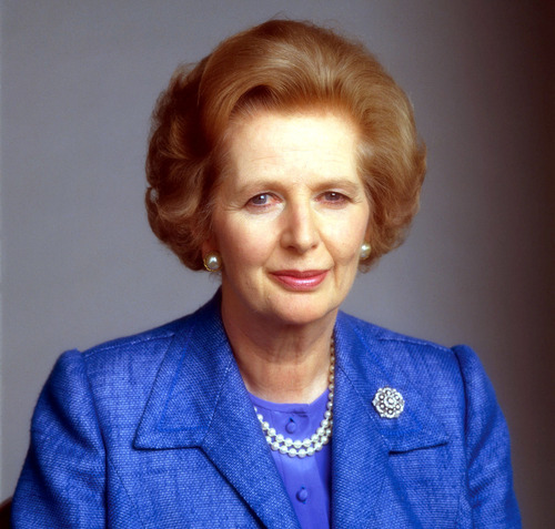 Margaret Thatcher, October 13, 1925–April 8, 2013