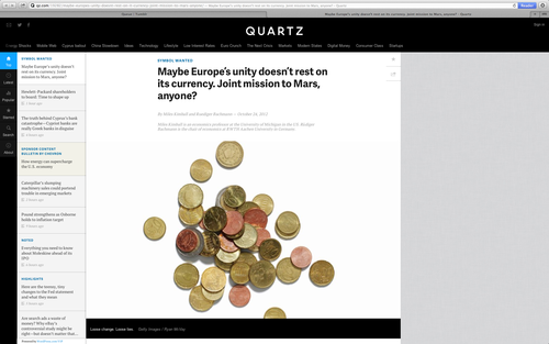 Link to the Column on Quartz