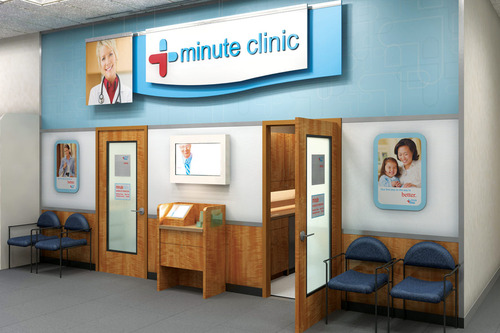 "A ""minute clinic"""