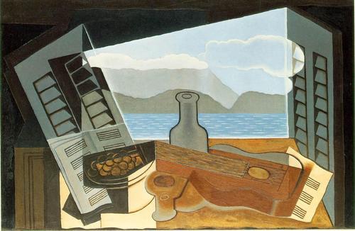 """The Open Window"" by Juan Gris"