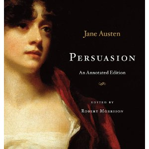 Jane Austen's book Persuasion–unrelated to the post, but a good book