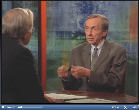 Bill Greider with Bill Moyers, July 18, 2008 (video)