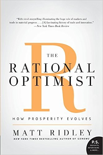 "Amazon page for ""The Rational Optimist"""