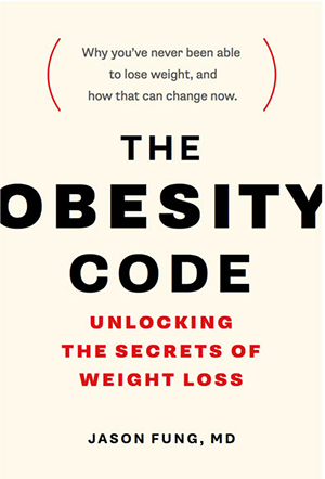 Link to  The Obesity Code  on Amazon