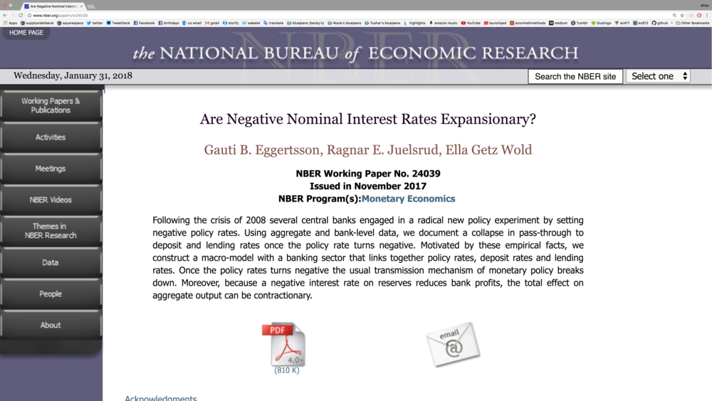 Link to the NBER page for this paper . For an ungated version,  use this link .