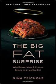 Link to the Amazon page for  The Big Fat Surprise