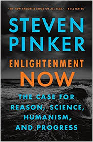 Link to the Amazon page for  Enlightenment Now