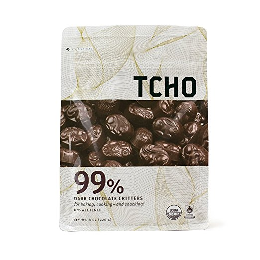 Amazon site for TCHO Dark Chocolate Critters