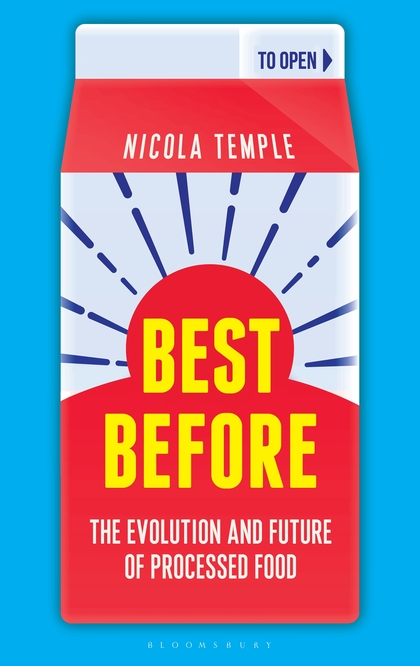 "Link to the Amazon page for Nicola Temple's book  ""Best Before: The Evolution and Future of Processed Food"""