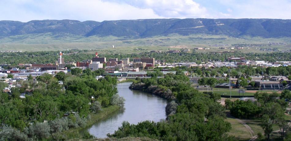 Casper, Wyoming.  Image source.