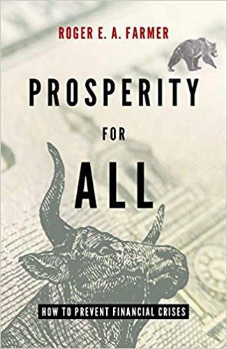 Link to the Amazon page for Roger Farmer's book on sovereign wealth funds and related ideas   , as a counterpoint to what I say below