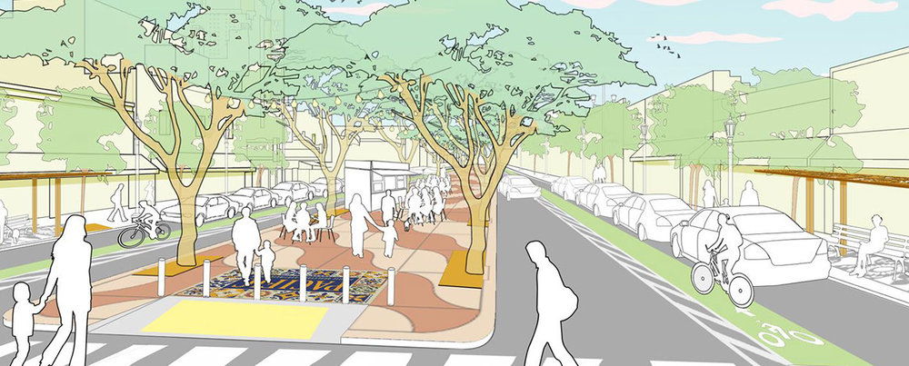 Pacific Boulevard Streetscape Design