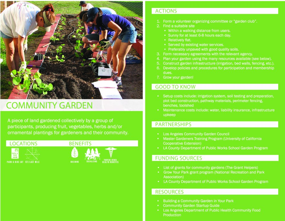 Metro Green Places Online Toolkit (Los Angeles, CA)