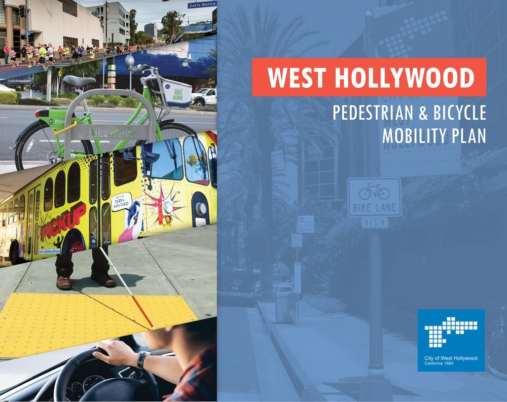 West Hollywood Pedestrian & Bicycle Mobility Plan