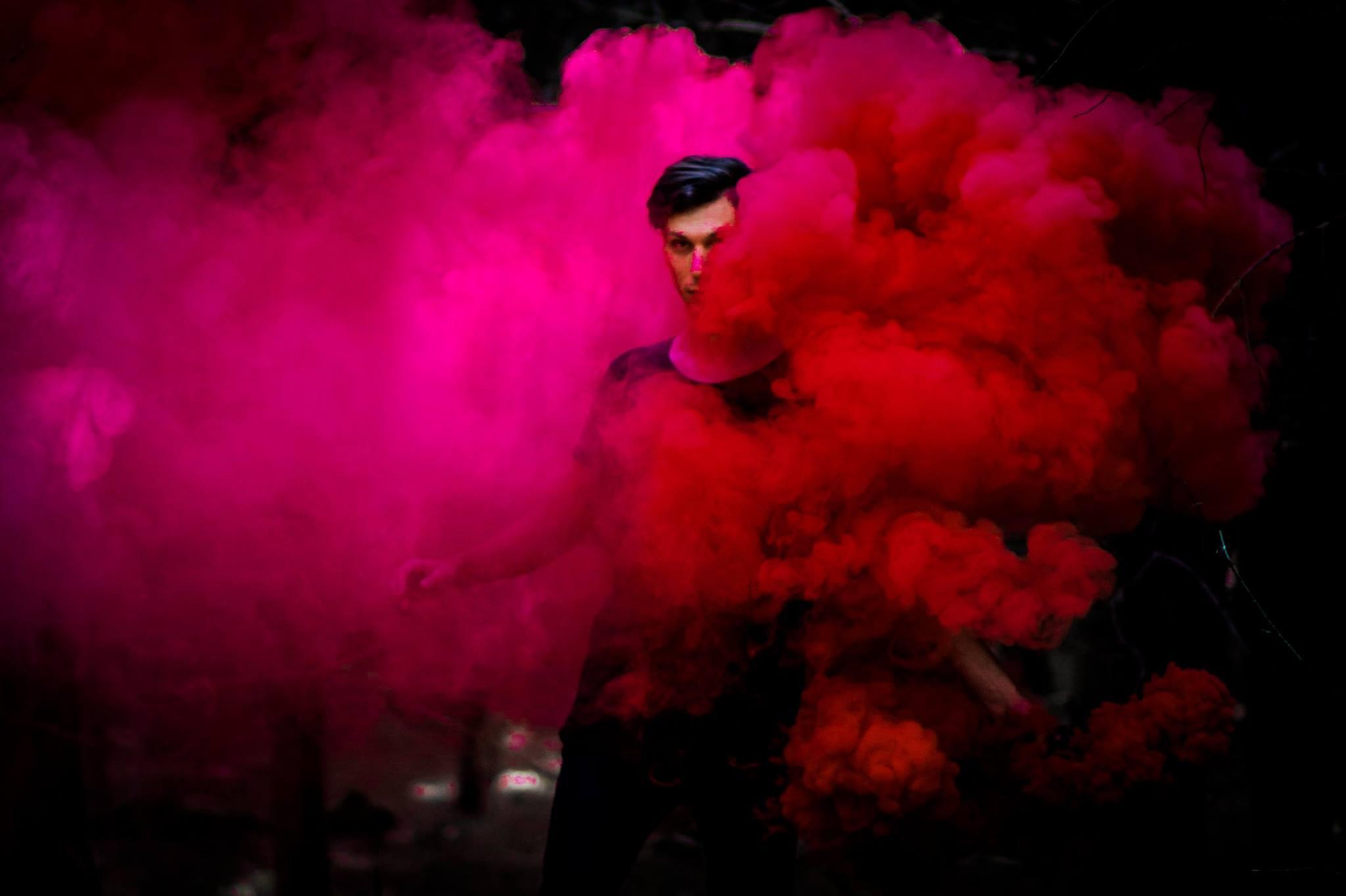 How to Photograph Colored Smoke Bomb Photos | Tutorial | YANI MACUTE