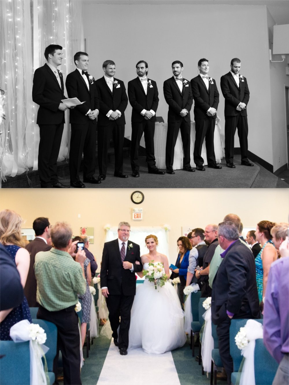 FIRST LOOK OF THE BRIDE REVEAL WEDDING PHOTOS | TORONTO WEDDING PHOTOGRAPHER