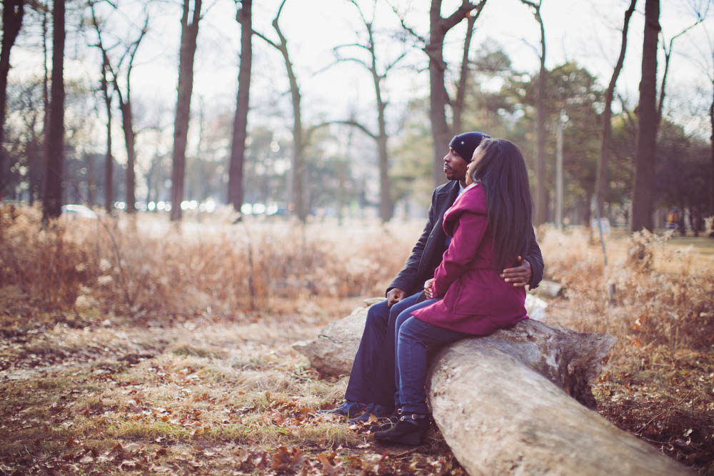 HIgh park toronto engagement photography -