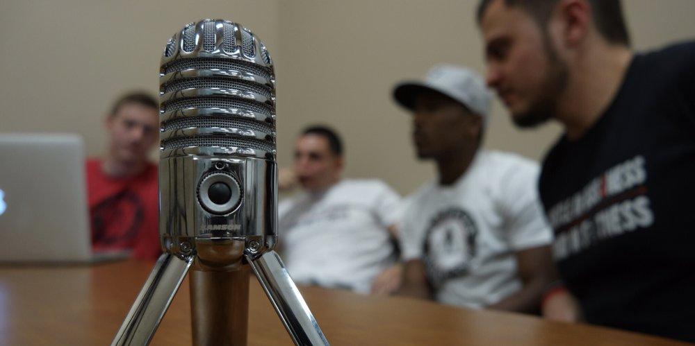 - podcast