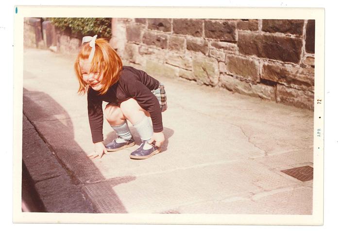 A young Miranda Doyle