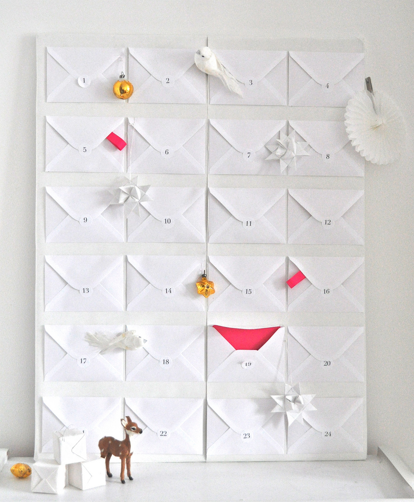 Envelope Advent Calendar | My Favorite Advent Calendars - Ashley Danyew